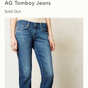 AG Tomboy Relaxed Straight